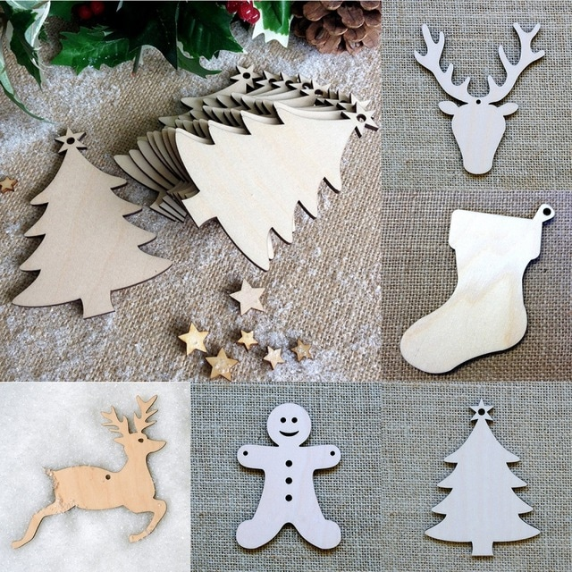 Vánoční ozdoby ze dřeva