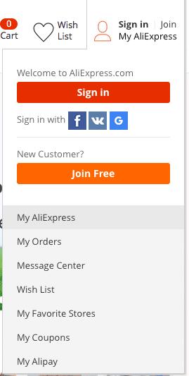 """Registrační tlačítko """"Join Free"""""""