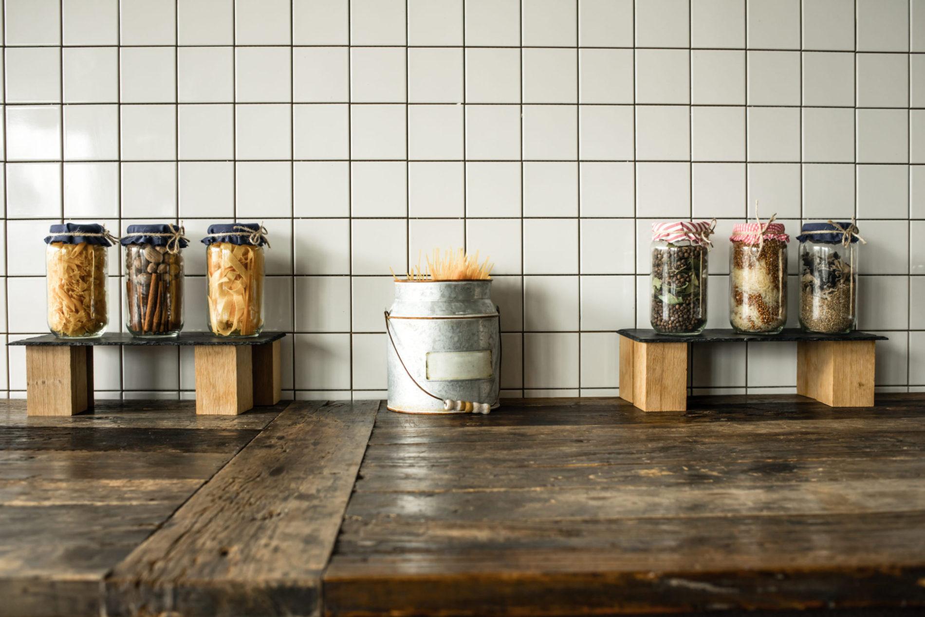 Dřevěná kuchyňská deska