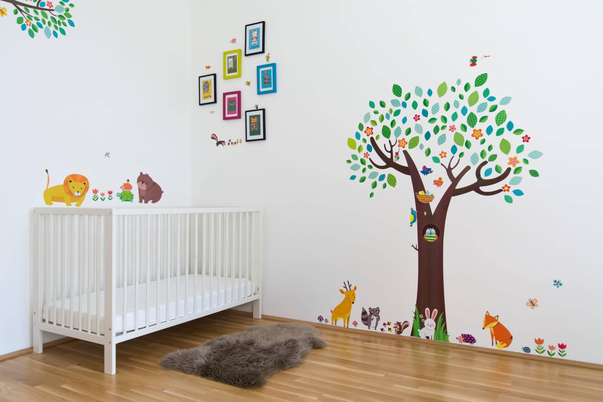 Nálepka v dětském pokoji