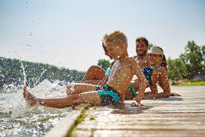 Léto v Česku u vody