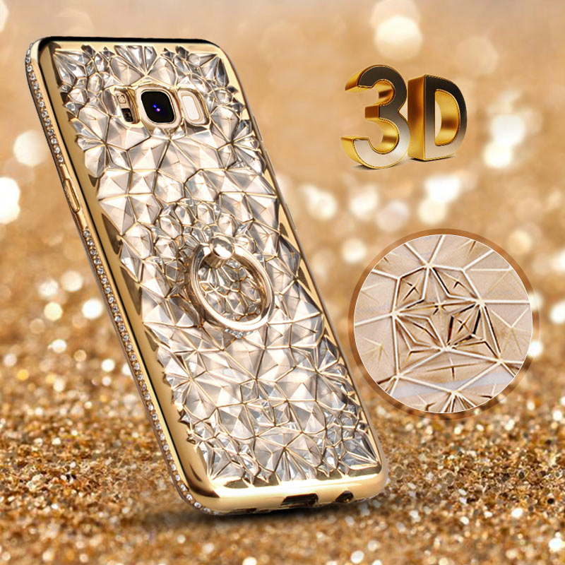 přepychový 3D pouzdro na mobil