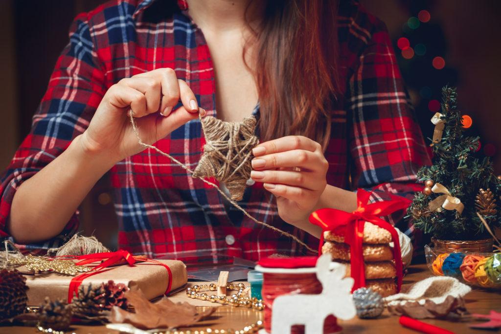 Vánoční dekorace DIY